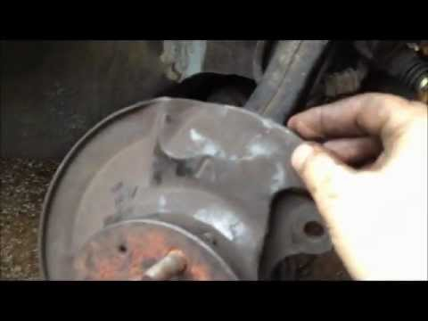 Changing Lower Ball Joints on a Civic