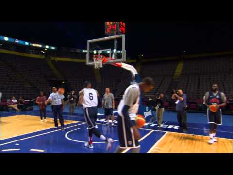 "Trick Shot: LeBron s ""Unstoppable Move"""