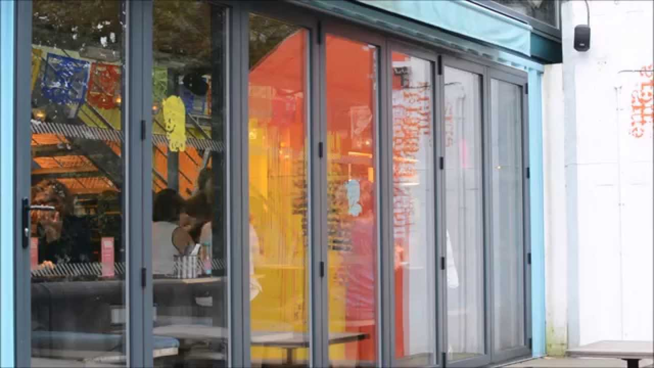 Shipping container restaurant london youtube - Wahaca shipping container restaurant ...