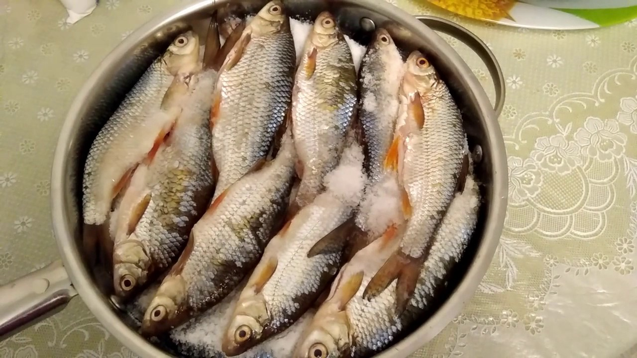 Вялить рыбу речную в домашних условиях