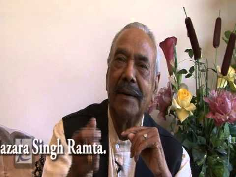 Hazara Singh Ramta-biography Documentary Trailer video