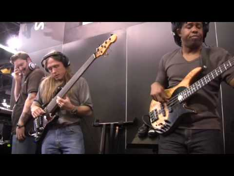 PreSonus NAMM 09- Victor Wooten, Steve Bailey David 
