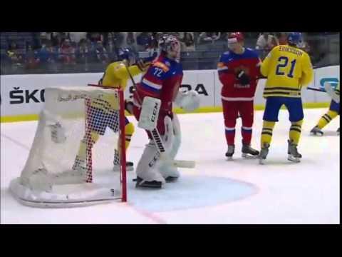 Швеция 3 5 Россия 14 05 2015 Обзор матча