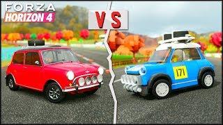 LEGO MINI vs MINI COOPER | Forza Horizon 4