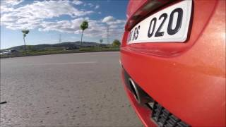 MEGANE RS 225 Exhaust Sound GoPro HD