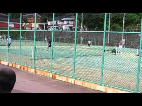 山中温泉ベテランテニス大会 4