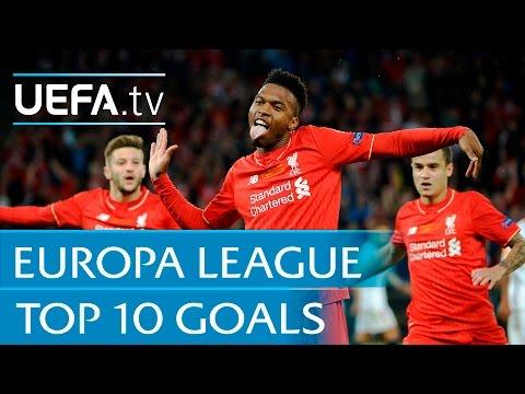 UEFA Europa League 2015/16 - Top ten goals