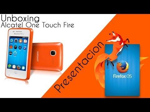 Presentación Firefox OS En Mexico y Unboxing Alcatel One Touch Fire