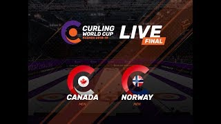 Canada v Sweden - Women's Final - Curling World Cup First Leg - Suzhou
