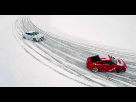 Ice Driving Audi Sweden