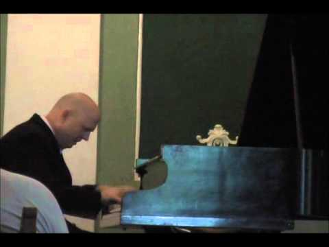 Steven Spooner plays Liszt's Totentanz, Paraphrase of Dies Irae, part 1 of 2