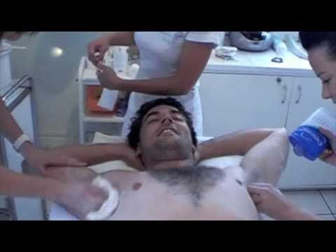 As a result of achieving certain sponsorship targets for the London Marathon 2010, this full body wax has been put on YouTube for everyones viewing pleasure!...