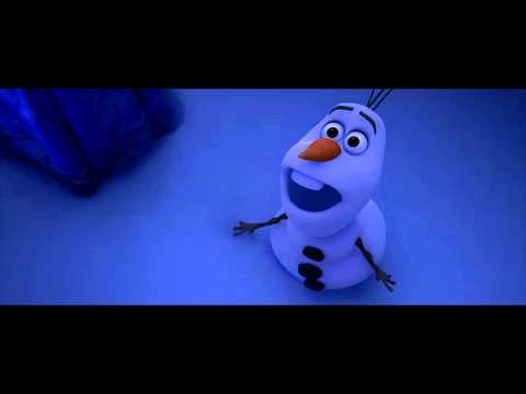 Frozen - I don't have a skull or bones - Olaf *HD*