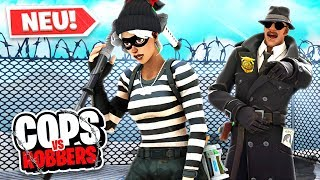 *NEU* COPS and ROBBERS Modus in FORTNITE!