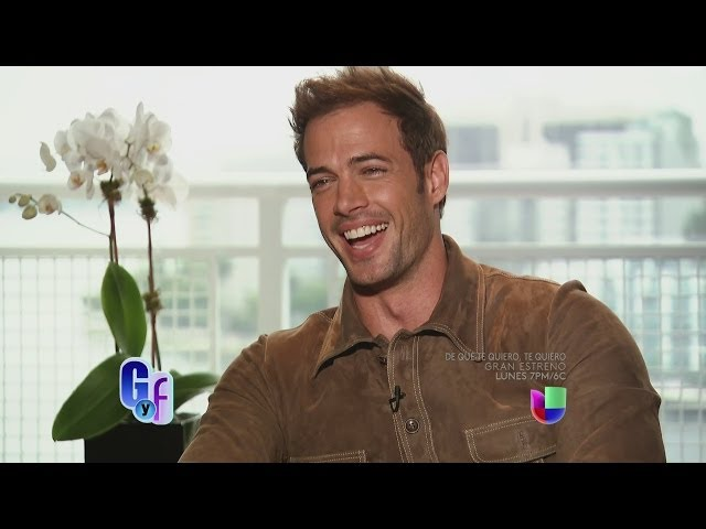 ¡Exclusiva! William Levy habló de su carrera en Hollywood y confesó si es mujeriego o no
