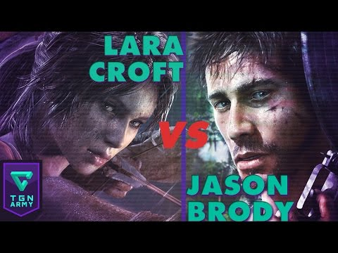 Survivors: Lara Croft (Tomb Raider) vs Jason Brody (Far Cry 3)