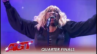 Carmen Carter: She Will Make You A Believer After this LIVE Performance! | America's Got Talent 2019