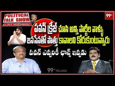 Political Talk Show With Prof K.Nageswar Over Pawan Kalyan Clarity On AP Elections | 99TV Telugu