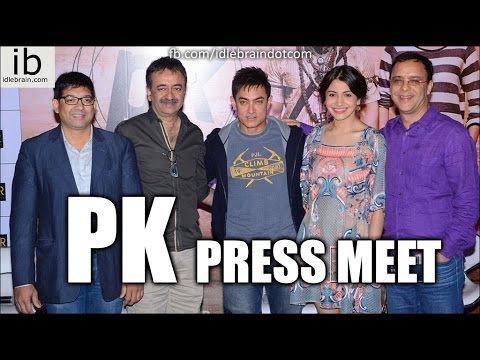 Aamir Khan's PK press meet at Hyderabad - idlebrain.com