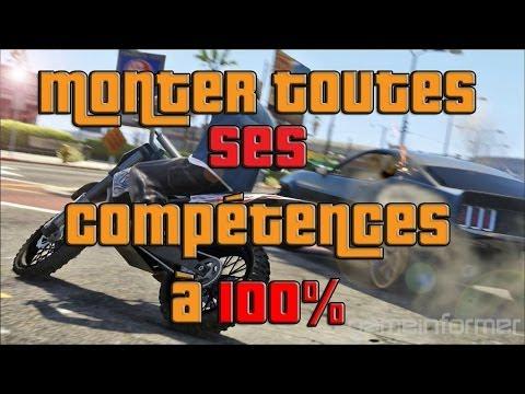 Améliorer toutes vos compétences à fond sur GTA Online !