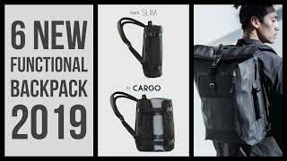 6 New Functional Backpack coming soon in 2019 | rolling backpacks | travel backpack kickstarter