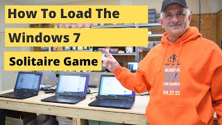 How to Load Windows 7 Solitaire Game