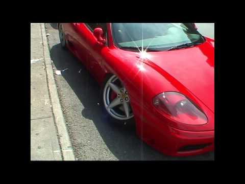 Ferrari wheel falls off