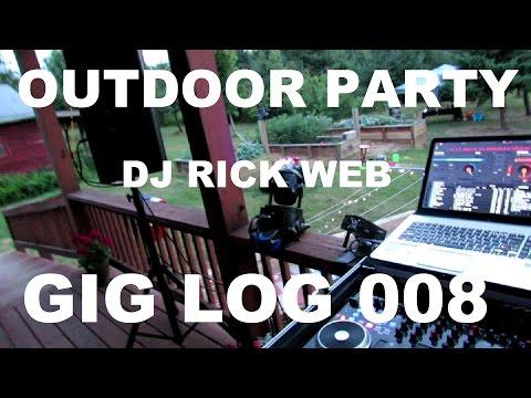 Outdoor Drunkin Party | GIG LOG 008 | JBL PRX 712s | DJ GIG TIPS