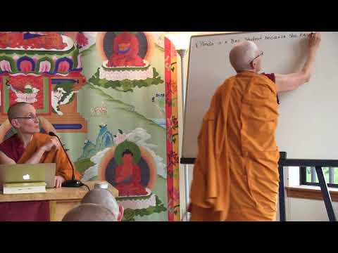 52 The Course in Buddhist Reasoning and Debate: Review Night 09-06-18
