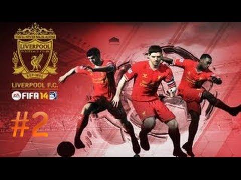 Прохождение FIFA 14 #2│Liverpool│[Карьера]