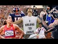 Testifying about Jesus on LiveTV & They'll Cut you Off - Honoring God through Sports -
