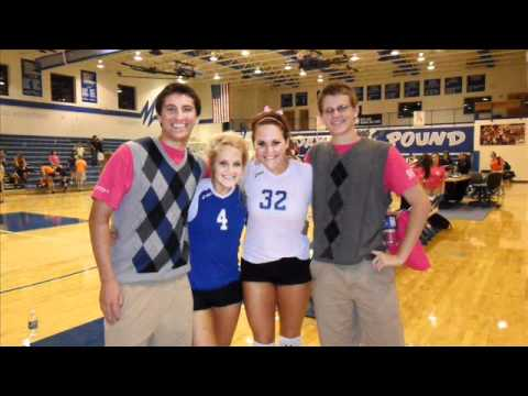 Notre Dame Regional High School Volley Ball Anthem - 09/12/2011