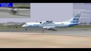 Fs2004 Flight1 ATR 72-500 From Corfu to Thessaloniki