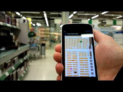 IndoorAtlas  indoor location technology demo (6x)