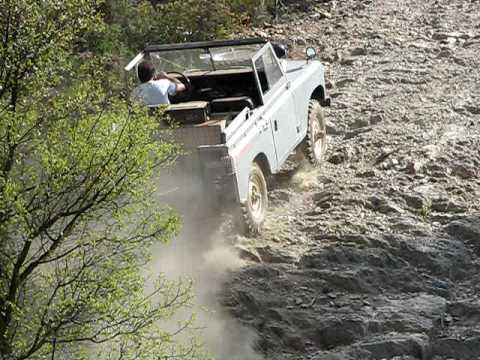 Land Rover Serie - неофициальный заезд TT 03