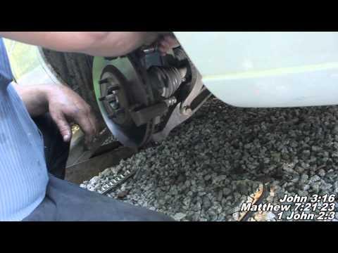 Wheel Bearing, Wheel Hub Assembly Remove Replace