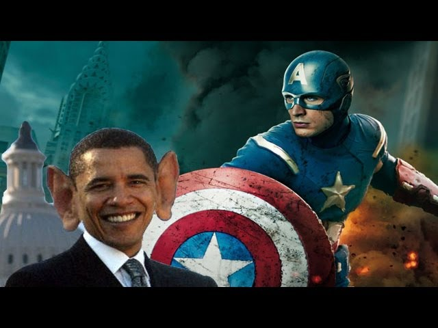 Captain America 2 Official Trailer: Winter Soldier battles Obama (by NMA)