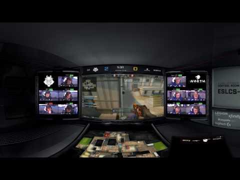VR Highlights - G2 vs. North [Cache] Map 1 - Grand Final - Pro League Finals Dallas