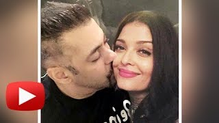 Salman Khan Kisses Aishwarya Rai | Both Are Together - PROOF