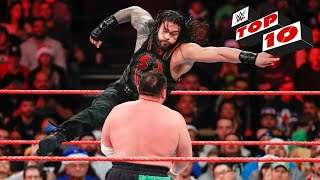 Download Top 10 Raw moments: WWE Top 10, December 25, 2017 3Gp Mp4
