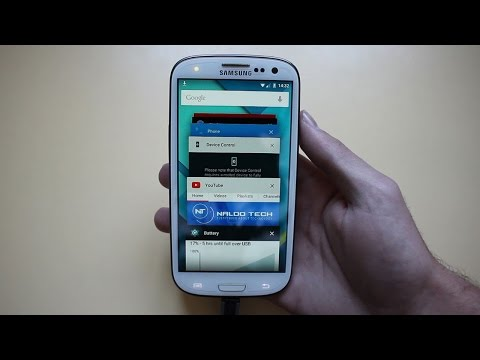 NamelessROM Android 5.0 Lollipop on Galaxy S3