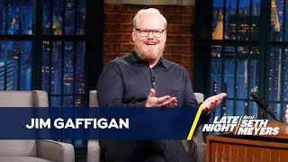 Jim Gaffigan Turned His Wife