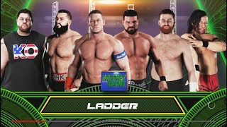 WWE 2K18 - 6 Man Ladder Match--Money In The Bank -WWE-2K18- Gameplay (PS4)