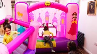 Princess Bouncy Castle- Fun Activities for Kids!