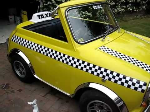 Mini Shorty as New York Cab