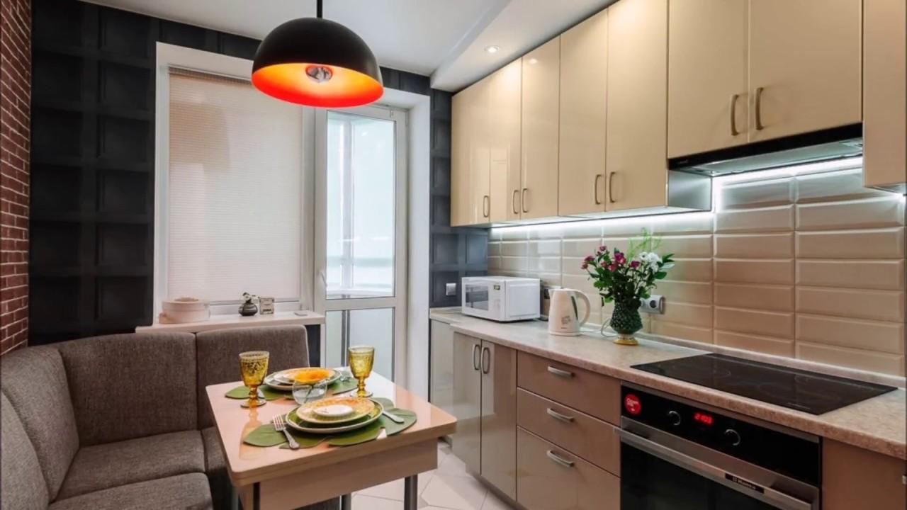 Ремонт кухни 10 кв м дизайн 2018