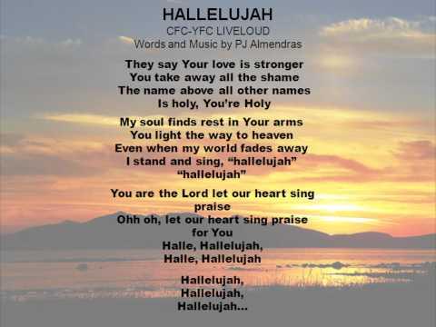 HALLELUJAH - CFC YFC LIVELOUD