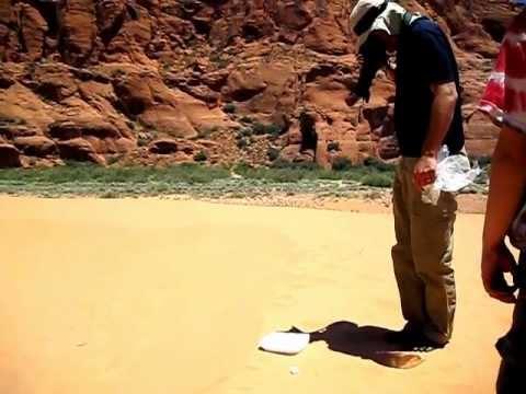Dry Ice Experiment I - Mars Spider Demo