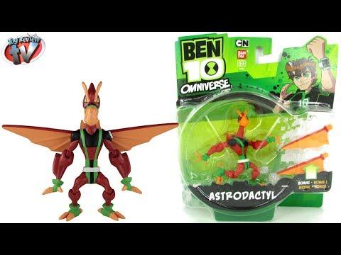 Ben 10 Omniverse Astrodactyl Action Figure Toy Review, Bandai