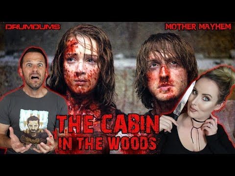 Drumdums & Mother Mayhem Explore THE CABIN IN THE WOODS